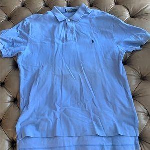 Sky blue light blue Ralph Lauren polo